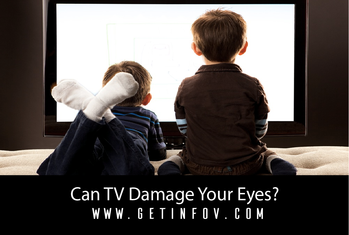 Can TV Damage Your Eyes