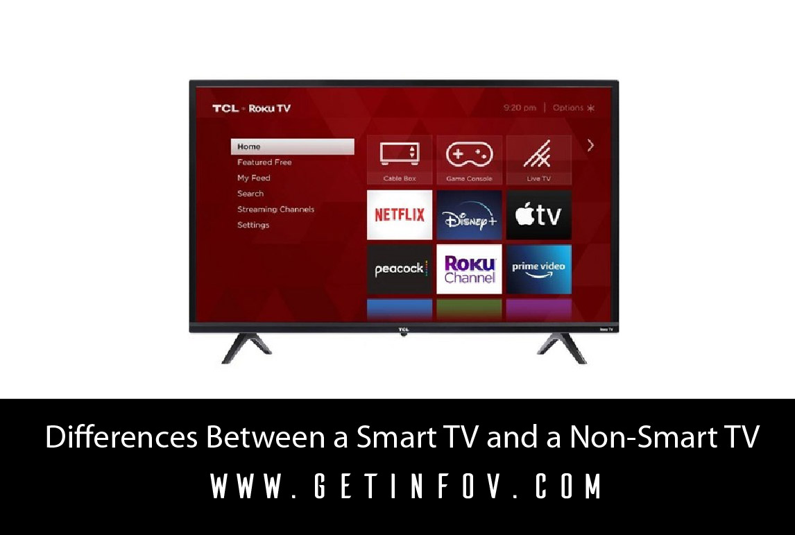 Differences Between a Smart TV and a Non-Smart TV